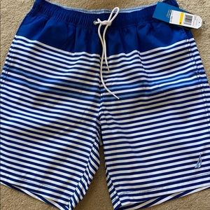 Nautical Quick Dry Men's Swimsuit
